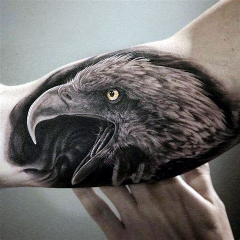 eagle tattoo guy 100 realistic tattoos for men realism design ideas