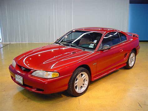 96 mustang cobra specs mustang specs 1996 ford mustang