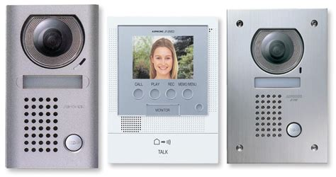 Front Door Intercom Aiphone Jf 2med Front Door Intercom Kit Av Australia