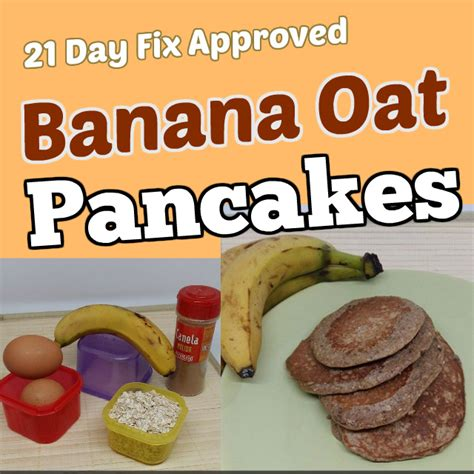 How Much Protein Allowed On 21 Day Sugar Detox by 21 Day Fix Pancakes Recipes Banana Chocolate Berry And