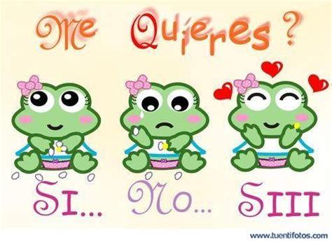 imagenes de ranas animadas de amor ranitas preguntan si me quieres
