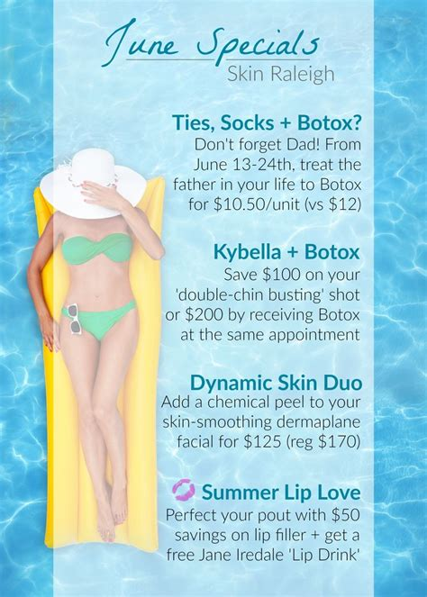 How To Salvage Your Summer Skin by Check Out Skin Raleigh S Brilliant Summer Specials Save