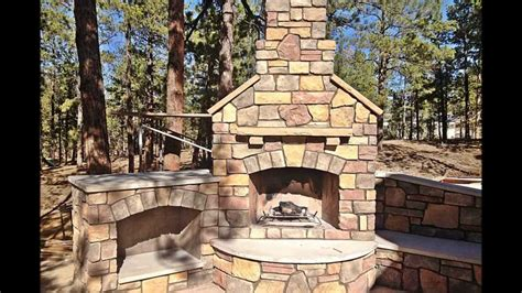 building outdoor fireplace building an outdoor fireplace youtube