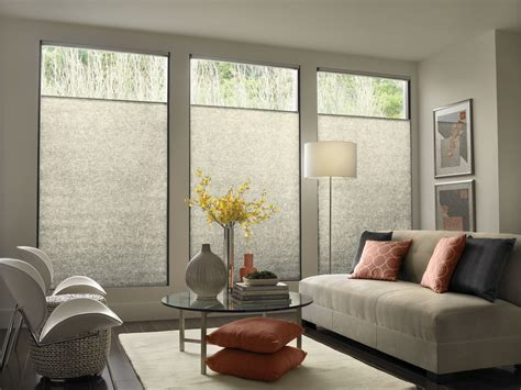 Living Room Shades Window Coverings - modern contemporary window treatments with mid century