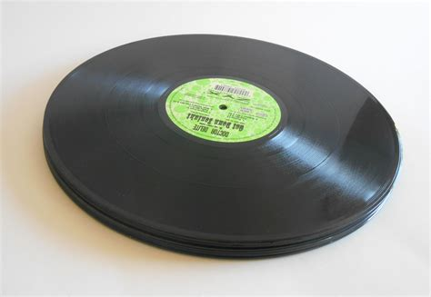 Black Records 5 Black 12 Inch Records For Crafts And Projects Colored Vinyl Records For Sale