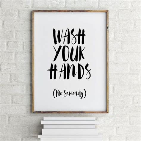 bathroom signs wash your hands 25 best printable quotes on pinterest free printable