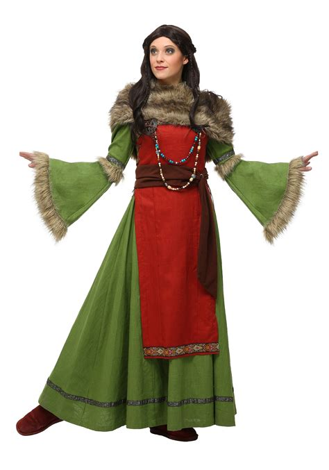 womens peasant viking costume