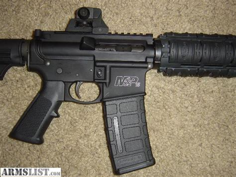 smith and wesson ar 15 bayonet armslist for sale trade smith wesson m p 15 ar15 with
