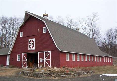 gambrel roof barn 301 moved permanently
