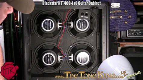 blackstar ht 408 cabinet blackstar 4x8 ht 408 guitar cabinet demo review youtube