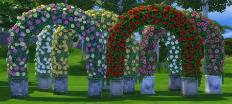 Wedding Arch Sims 4 Cc by My Sims 4 Wedding Arches Wine Bottles Beds And