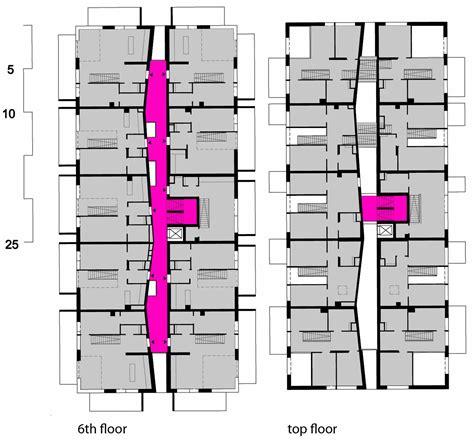 Mit Floor Plans by Wohnen Mit Scharf Superblock Archdaily
