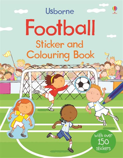 football picture books football sticker and colouring book at usborne children