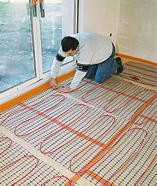 Heated Floor Installation by Which Form Of Heating Should You Choose For Your House