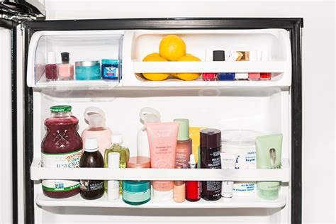 should you keep your makeup in the fridge daily makeover refrigerate beauty products for the sake of longevity