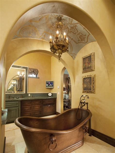 home design interior tuscan master bathroom ideas