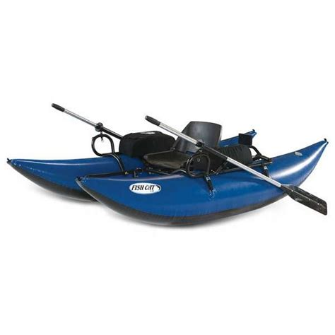 fishing from inflatable pontoon boat outcast fish cat 9 inflatable pontoon boat tackledirect