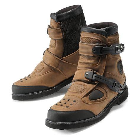 icon boots icon patrol waterproof boot revzilla