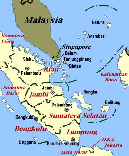 sejarah indonesia sumatera selatan riau bengkulu  jambi