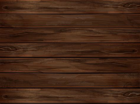 Natural wooden brown board from an oak background vector