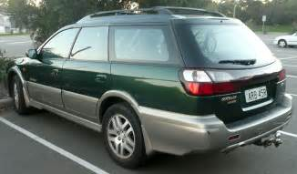 subaru station wagon green file 1999 subaru outback bh9 limited station wagon 2009