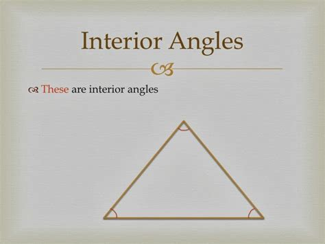 Interior Triangle Angles by Rat Ate Homework Exterior Interior Remote