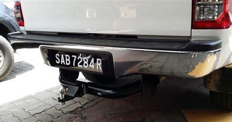 Capasitor Bumper Bp 80led jrj 4x4 accessories sdn bhd rear bumper
