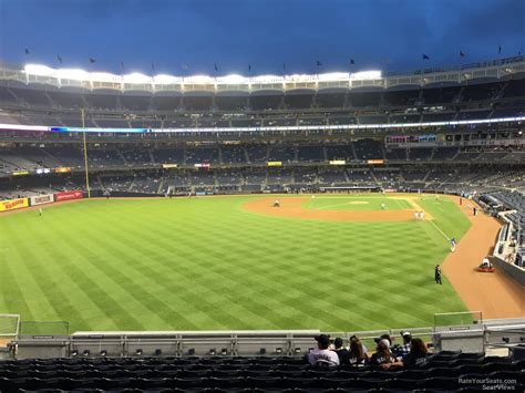 Section 205 Yankee Stadium by Yankee Stadium Section 234 New York Yankees Rateyourseats