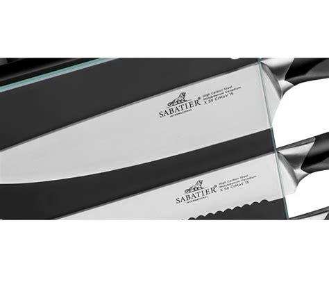 international knives sabatier international denver knife block 5 knives