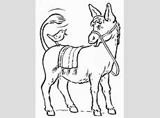 Donkey Coloring Pages Eagle Coloring Pages Free