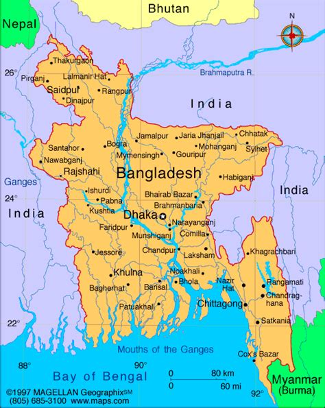 where is dhaka on the world map bangladesh map pic