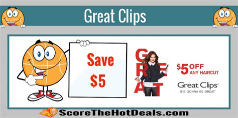 haircut deals columbus ohio save 5 off your next haircut at great clips score