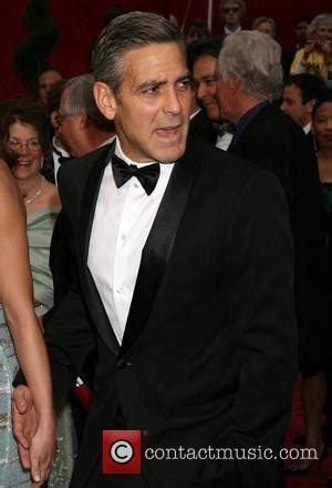 Even Out Of Focus George Clooney Is by News Archive 8th April 2008 Contactmusic