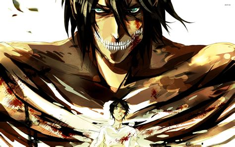 anime attack on titan anime attack on titan eren yeager wallpaper anime