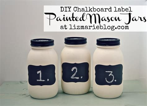 chalkboard paint staples diy chalkboard label jars tip junkie