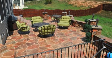 Ow Patio by Stained Concrete Patios The Concrete Network