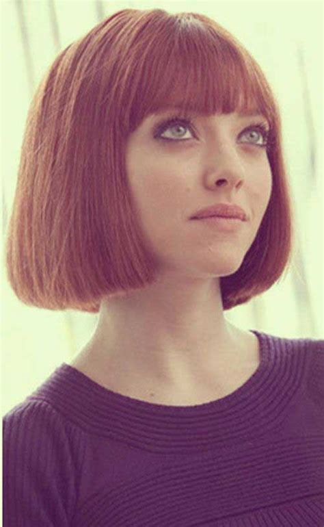 blunt fringe hairstyles 15 short blunt bob with bangs bob hairstyles 2017