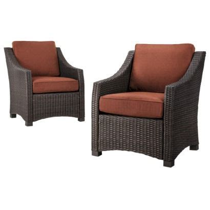 Belvedere Wicker Patio Furniture Collection Threshold Threshold Patio Chairs