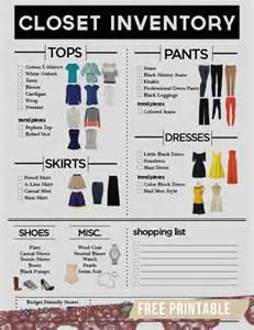 wardrobe wardrobe inventory