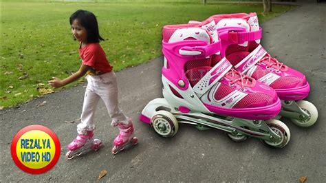 Sepatu Roda Pemula bermain sepatu roda untuk pemula mainan sepatu roda anak