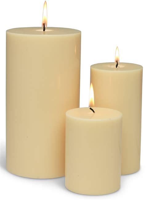 gold and cream pillar candles plain pillar candle h15cm collection select