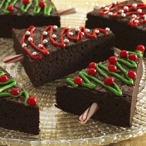 10 christmas tree brownies to make for this holiday