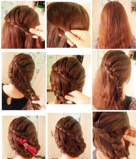 simple hairstyles for party step by step 86 latest hair style step by step easy and simple