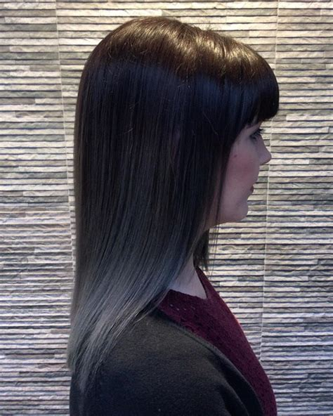 with grey hair 40 glamorous ash blonde and silver ombre hairstyles