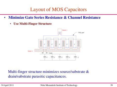 mos capacitor layout mos capacitor layout 28 images 캐패시터의 레이아웃 design framework ii tutorial exle cmos capacitor