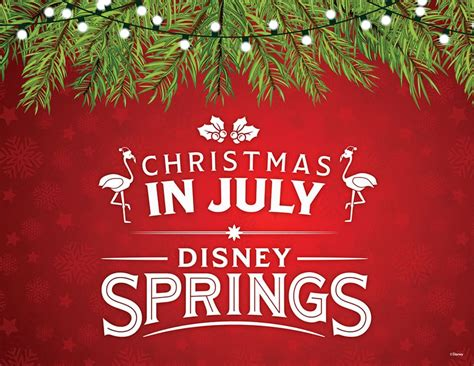 christmas in july christmas in july arrives at disney world