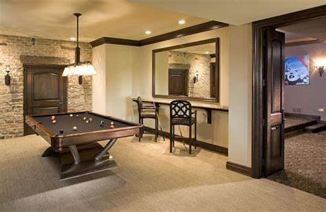 Basement wall ideas basement traditional with neutral