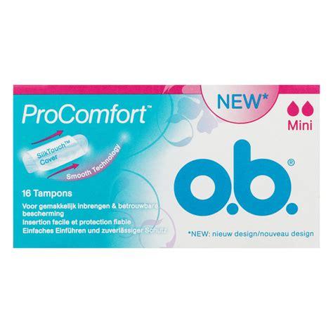 ob pro comfort mini ob tons pro comfort mini 16st voordelig online kopen
