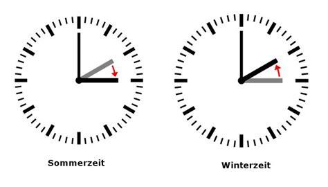 wann werden die uhren umgestellt auf winterzeit sommerzeit und winterzeit