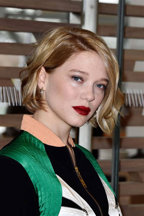 lea seydoux hairstyle 18 short bob hairstyles that ll have you running to the salon